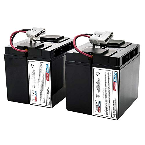 UPSBatteryCenter RBC142 Compatible Battery Pack for APC Smart UPS C 1000 SMC1000 New!