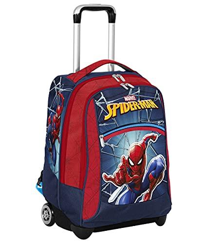 Seven Big Trolley Spider Man, Rosso e Blu, Scuola e Tempo Libero