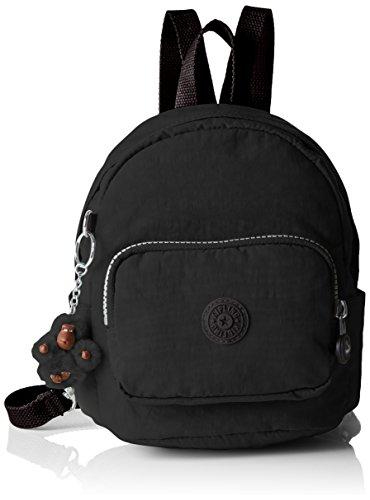 Kipling - Mini Backpack, Mochilas Mujer, Black, 19x21.5x17 cm (W x H L)