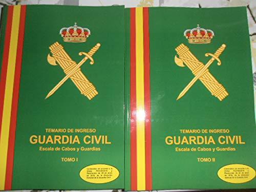 Temario Guardia Civil Escala de Cabos y Guardias 2019 2020