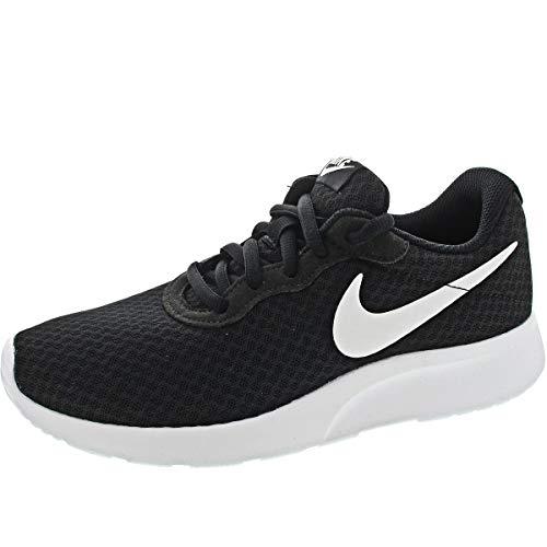 NIKE Tanjun, Sneaker Donna, Nero (Black/White 011), 35.5 EU