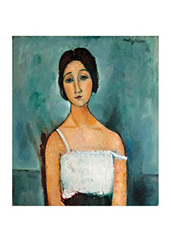 Spiffing Prints Amedeo Modigliani - Christina - Medium - Matte - Unframed