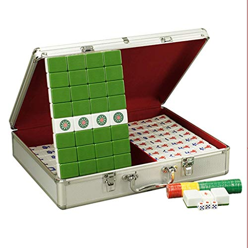 DFJU Games Mahjong Chinese Traditional Mahjong Home Leisure Mahjong Card...