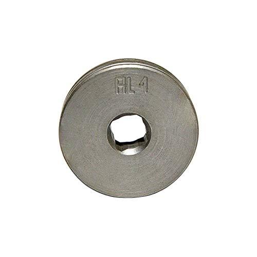 TELWIN Drahtvorschubrolle für Telwin Technomig 180-210 MIG MAG Schweißgerät VPE: 1 Stück, Typ:Stahl/Aluminium 1.0 mm