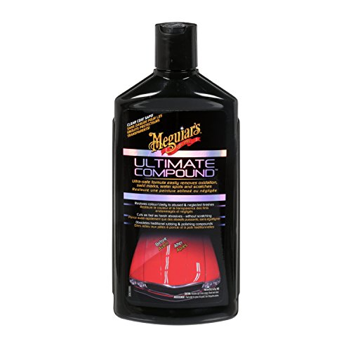 Meguiar's Ultimate Compound - Oxidation, Swirl Marks, Water Spots and Scratches Remover - G17216C