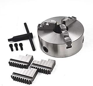 3 Jaw 8'' K11-200 Lathe Chuck Self Centering Reversible Hardened Steel 200mm