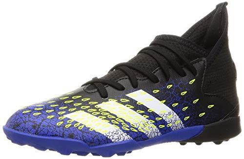 adidas Predator Freak .3 TF J, Zapatillas de fútbol, NEGBÁS/FTWBLA/Amasol, 38 2/3 EU