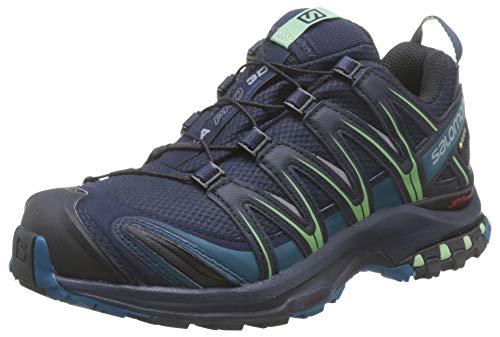 Salomon Damen Trail Running Schuhe, XA PRO 3D GTX W, Farbe: blau (navy blazer/lyons blue/spruce stone) Größe: EU 42 2/3