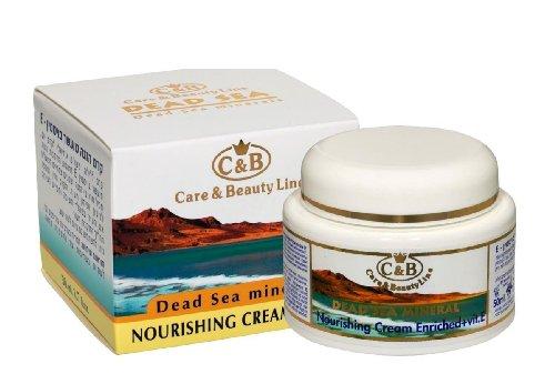 C&B DEAD SEA Night Nourishing Facial Cream Enriched with Vitamin E 50ml SPA