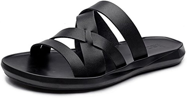 GJLIANGXIE Men'S Sandals Beach Sandals Slippers Men'S Tide Summer New England Casual Men'S Sandals And Slippers Korean Fashion Men'S shoes