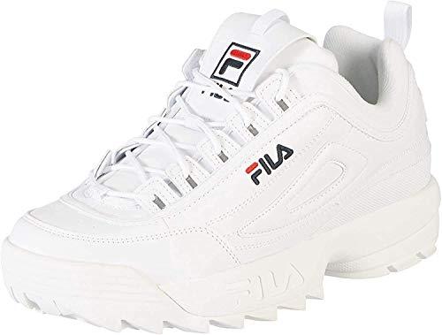 Fila Herren Disruptor Low Sneaker, Weiß (White 1fg), 43 EU