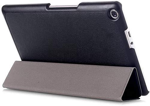 Kepuch Custer Hülle für ASUS Zenpad 8.0 Z380KL Z380KNL,Smart PU-Leder Hüllen Schutzhülle Tasche Hülle Cover für ASUS Zenpad 8.0 Z380KL Z380KNL - Schwarz
