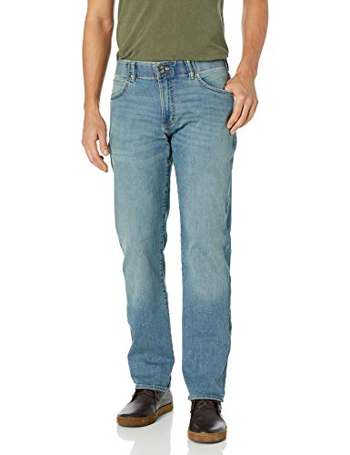 Lee Men's Modern Series Extreme Motion Straight Fit Tapered Leg Jean – 36W x 36LRadical