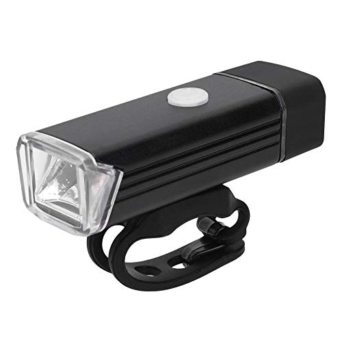 Fiets voorlamp, USB opladen Fietslicht Oplaadbare fiets Fietslicht Koplamp LED Nachtverlichting Fietsverlichting Voorlamp