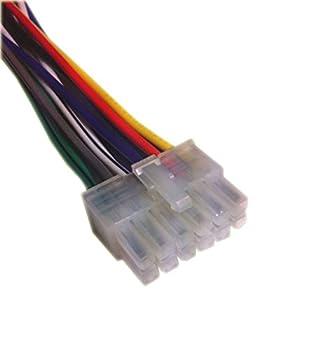 Dual XDM260 / XDM270 / XDM280BT CD Receiver Wiring Harness