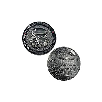 H-011 Tactical Terrorism Response Team TTRT CBP Challenge Coin Storm Trooper Star Wars Death Star