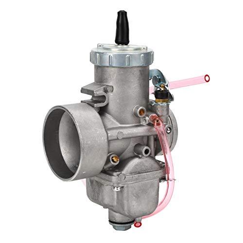 Bediffer Carburador Profesional de 44 mm / 1,7 Pulgadas de Repuesto Superior Modificado Carb Carburador Redondo de Alto Rendimiento VM44-3 para Motocicleta para su vehículo