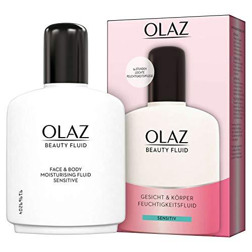 Olaz Beauty Fluid Für Gesicht Und Körper Sensitive Feuchtigkeitspflege, 200 ml