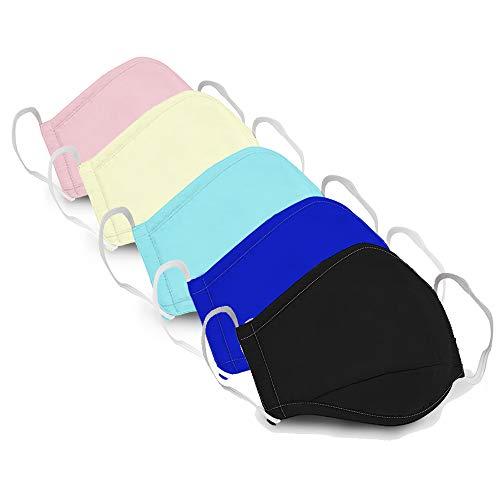 Buy 3PCS Washable Reusable Anti Dust Face Mouth Cotton (3PCS-MixColor)
