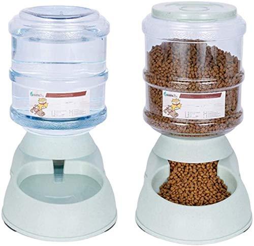 Los cachorros comida for gatos dispensadores automáticos for mascotas alimentador del animal doméstico envase de alimento for mascotas dispensador de agua desmontable alimentador alimentador perros ma