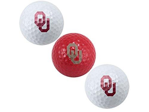 -quipe Golf 24405 Oklahoma Sooners Golf Ball Pack de