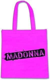 Borsa Shopping Madonna Logo (Eco Tote Bag Rosa)