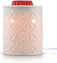 STAR MOON Wax Melt Warmer for Home Décor, Home Fragrance Diffuser, Fragrance Air Fresheners, No Flame, Removable Dish, with One More Bulb (Four-Leaf Clover)