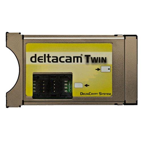 Deltacam Twin Deltacrypt REV 2.0 CI Cam Modul