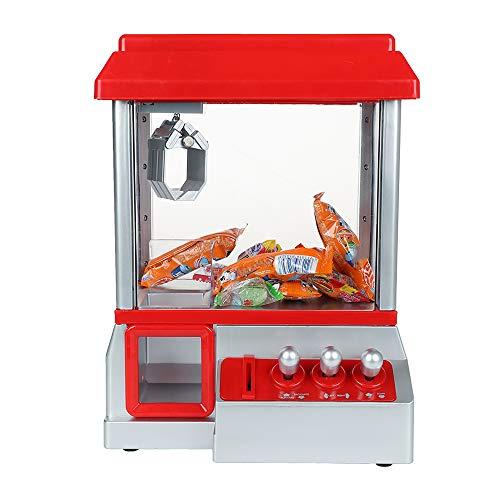 N / C Máquina de muñecas de Garra con 8 muñecas, máquina de muñecas de Juego Retro Que Funciona con Monedas, Hermosos Sonidos, el Mejor Juguete de Regalo para niños
