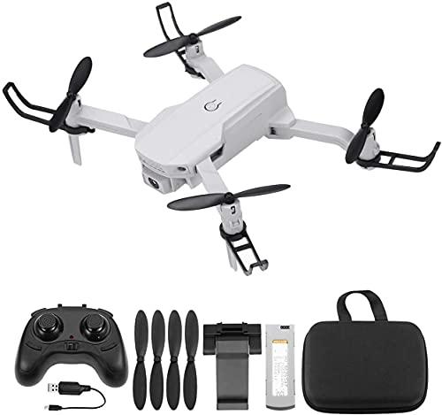 Powerextra RC Mini Drone con Telecamera HD - 2 Batteria Quadcopter Drone Pieghevole WiFi FPV 2.4GHz 3D Flip e Funzione Spin ad Alta Velocità Rotazione à per Bambini e Principianti