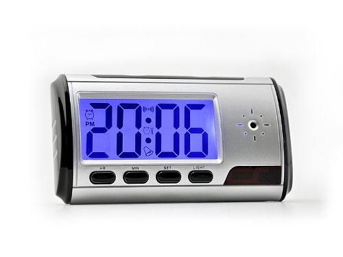 Cámara espía con reloj despertador de The Low Price