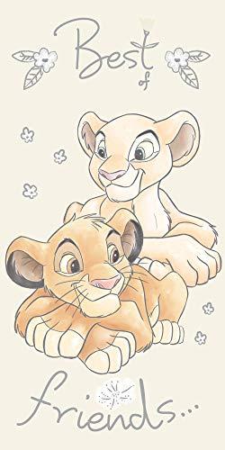 Jerry Fabrics Disney Simba Löwen Strandtuch Badetuch 70cm x 140cm