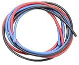 イーグル模型 シリコン銀コードセット 16G ゲージ 赤 黒 青 各60cm 967