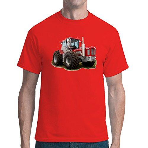 Im-Shirt Traktoren Unisex T Traktor Schlüter 3000 by Rot L