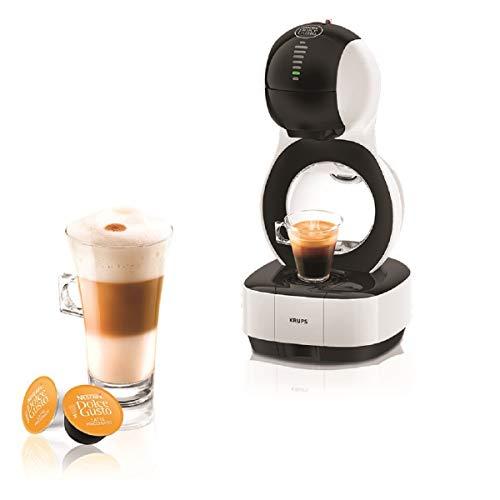 Krups YY3042FD Machine à Café à Capsules Nescafé Dolce Gusto Lumio - Automatique - Qualité Professionnelle - Pression 15 bars - Interface Tactile - Large Choix de Boissons Chaudes et Froides