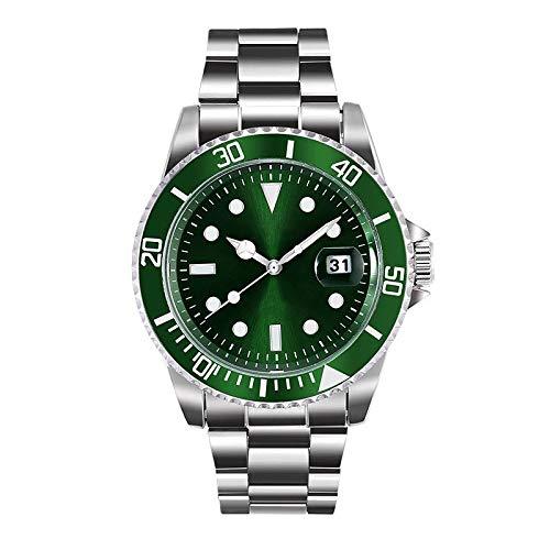 LMCYP Orologio subacqueo da uomo originale Dive Watch-Pro con corona a vite e resistente all'acqua fino a 330 Ft- Quadrante analogico, orologio da polso al quarzo impermeabile da uomo in acciaio imper