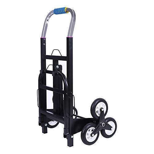 ZEHNHASE Sackkarre Stapelkarre klappbar Treppensteiger bis 150kg Tragkraft