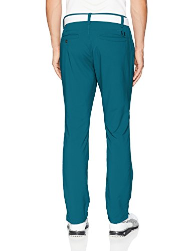 Under Armour Men's Match Play Golf Tapered Pants, Techno Teal, 40W x 32L