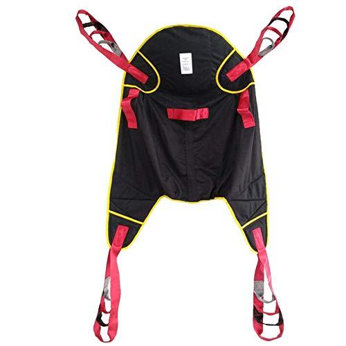 Alvnd Noll Gravity Folding Chair Patient Lift Sling Medical Lifter, Heavy Duty Transfer Sling med 4 poäng Support, Split Ben Nursing Sling för seniorer, funktionshindrade, fetma, A1 (Color : A2)