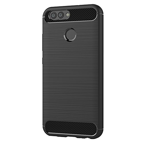 AICEK Huawei Nova 2 Hülle, Schwarz Silikon Handyhülle für Huawei Nova 2 Schutzhülle Karbon Optik Soft Case (5,0 Zoll) - 2
