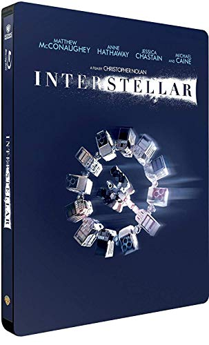 Interstellar (Iconic Moments) (2 Blu-Ray) (Steelbook) [Italia] [Blu-ray]