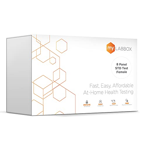 myLAB Box STD at Home Test for Women Chlamydia, Gonorrhea,...
