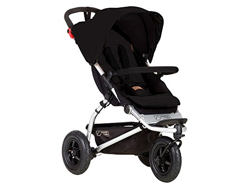Mountain Buggy poussette Swift noire