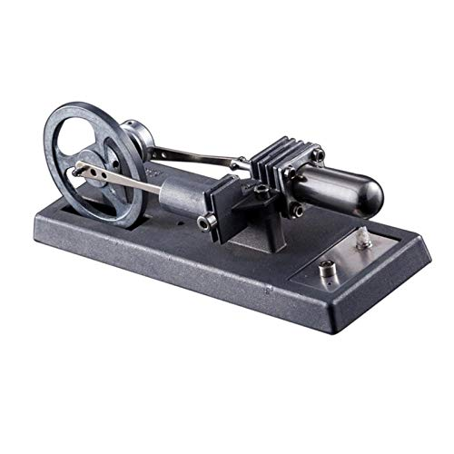 Modelo de Juguete de Motor Air Stirling Motor Modelo Modelo Generador de calor Modelo físico Colección de juguetes Inicio Oficina Regalo Coleccionable para la Enseñanza del Laboratorio de Física