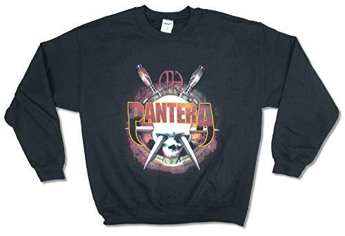 Pantera Knives Skull CFH Black Crew Neck Sweatshirt (XL)