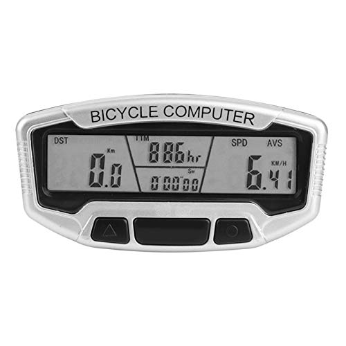 Gmkjh Cuentakilómetros para Bicicleta, computadora para Bicicleta, al Aire Libre, Impermeable, con Cable, computadora para Bicicleta, odómetro, Accesorio para Montar en Bicicleta
