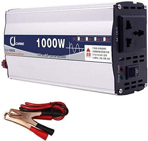 Preisvergleich Produktbild YHDQ Car Power Inverter 1000W bewegliche Auto-Stromversorgung,  DC12V / 24V zu AC110V Auto-LKW-reinen Sinus-Wellen-Energien-Inverter,  for Smartphones / Tablet / Laptop / Vernebler / etc,  48V,  24V YHD