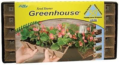 Jiffy Strips 'N Greenhouse, 50 Pack, 1-3/4