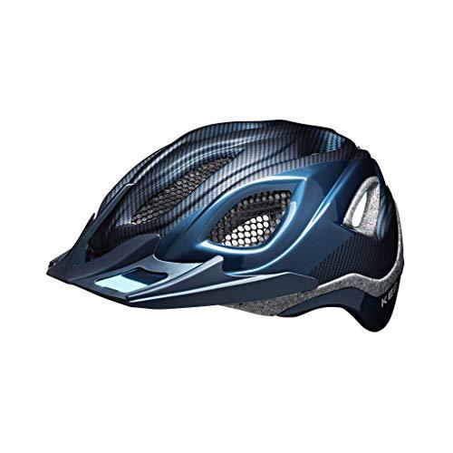 KED Certus Pro - inkl. RennMaxe Sicherheitsband - Fahrradhelm Skaterhelm MTB BMX Erwachsene Jugendliche (Nightblue, 55-63 cm)