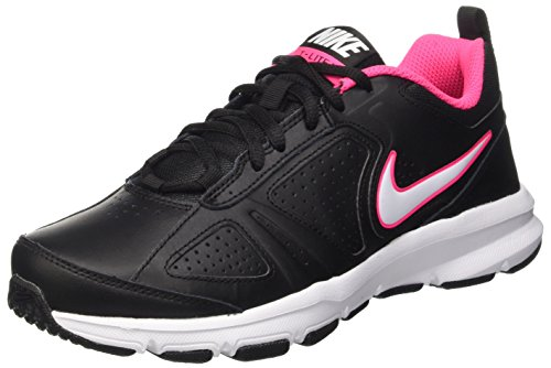 Nike T-Lite XI, Scarpe Sportive Indoor Donna, Nero (Black/White-Hyper Pink), 40.5 EU